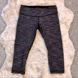 [Lululemon] Striped Crop Athletic Pants